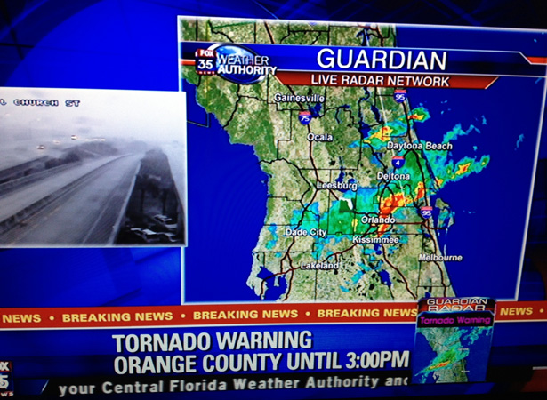 Bugs and tornados - still getting used to life in the tropics.